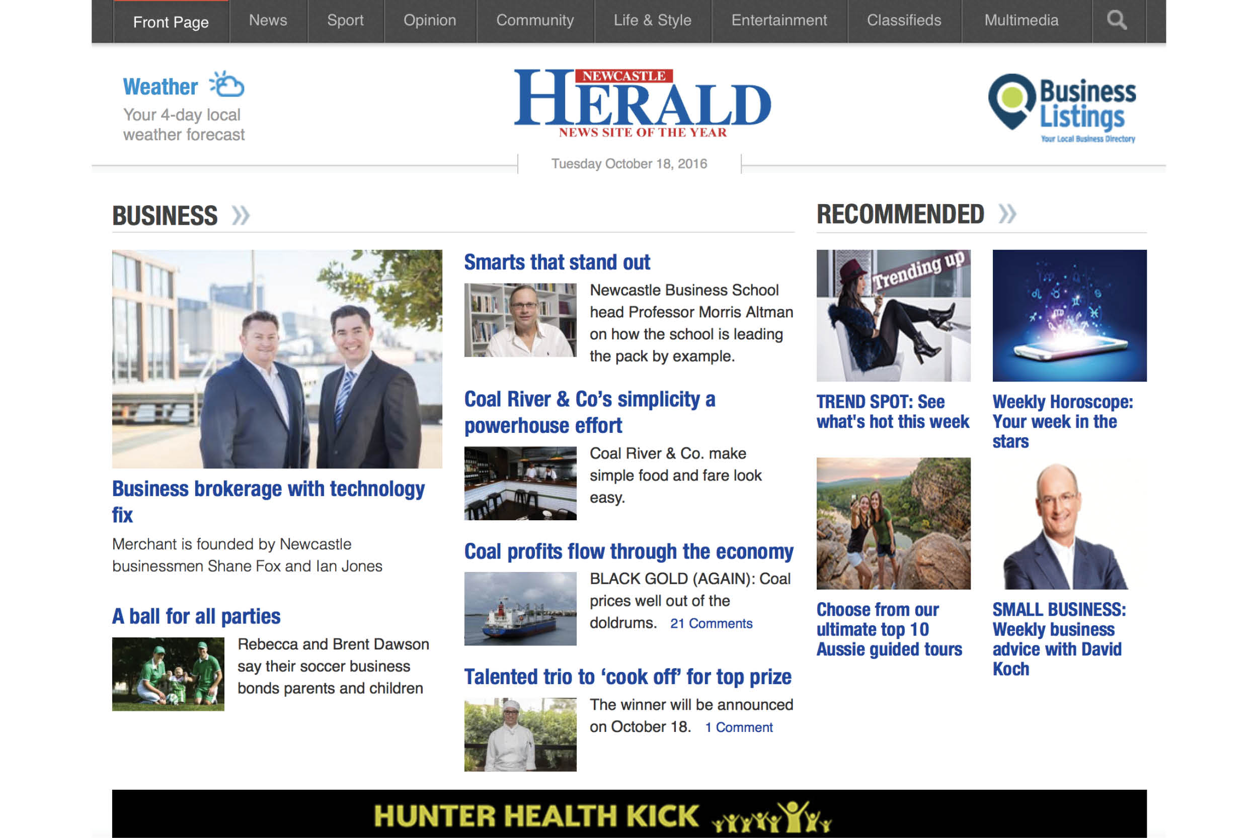 Merchant Business Brokers Newcastle Herald